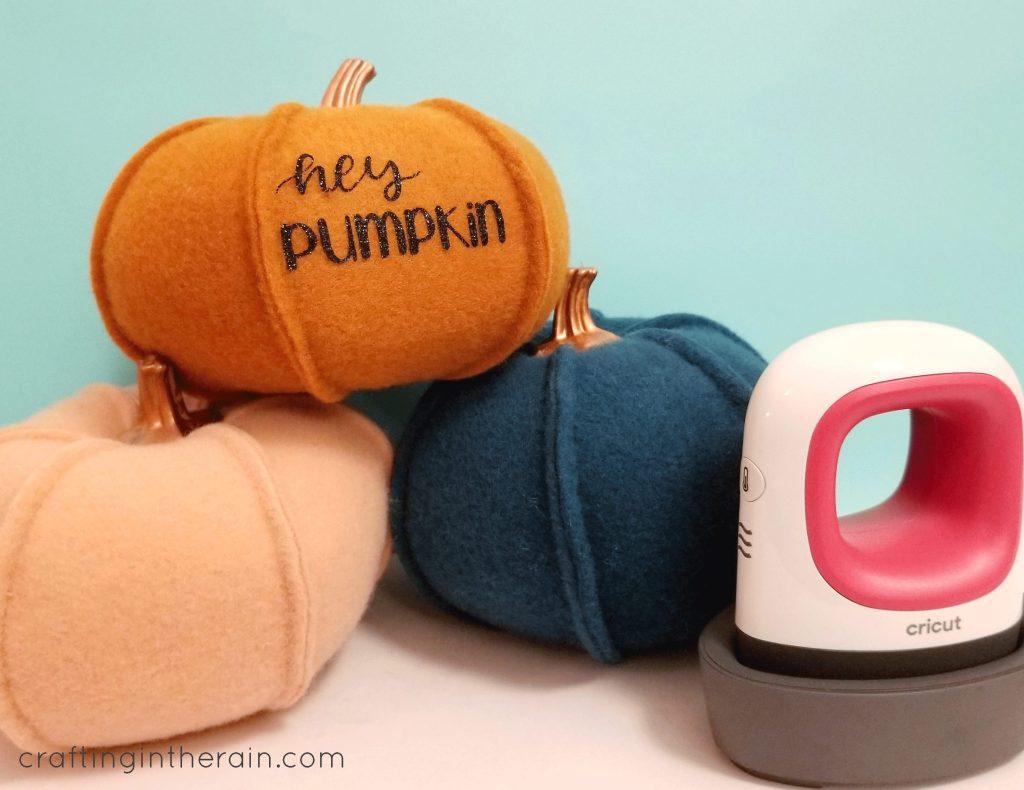 target felt pumpkin