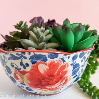 FloraCraft® Faux Succulent Planters