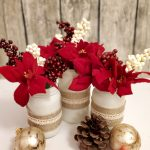 Christmas Jars with Dollar Store Supplies