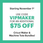 cricut maker sale