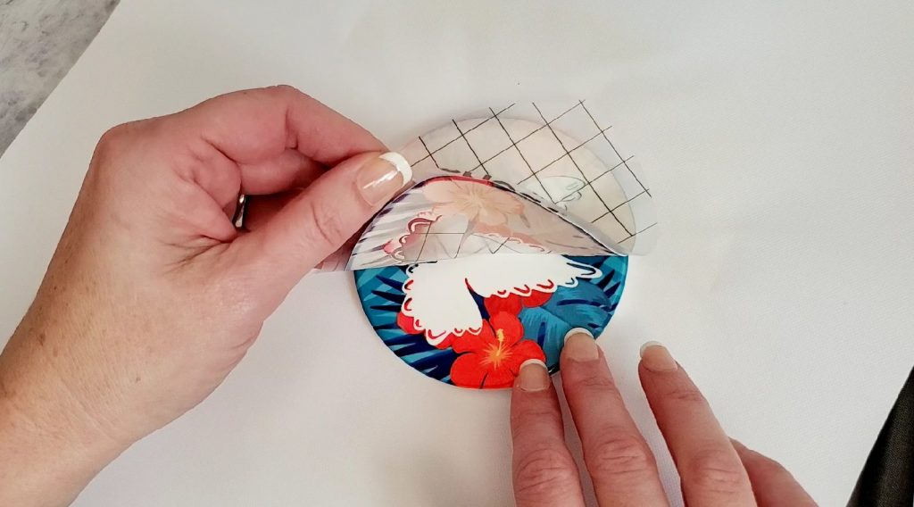 How to make Infusible Ink coasters