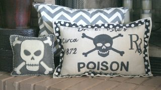 Halloween Spooky RX Pillow {Target Knock-Off}