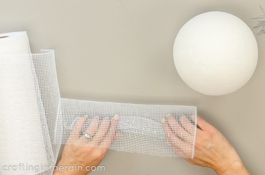 Rolling FloraCraft mesh