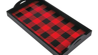 Buffalo Plaid Serving Tray