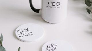 Custom Word Coasters