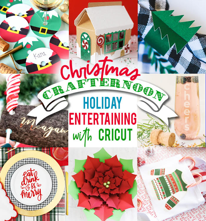 Cricut holiday table ideas
