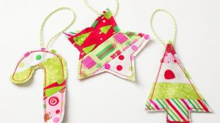 Fabric Gift Toppers