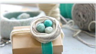 Yarn Nest Gift Topper