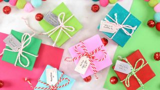 Stamped Metal Gift Tags
