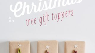 Christmas Tree Gift Toppers
