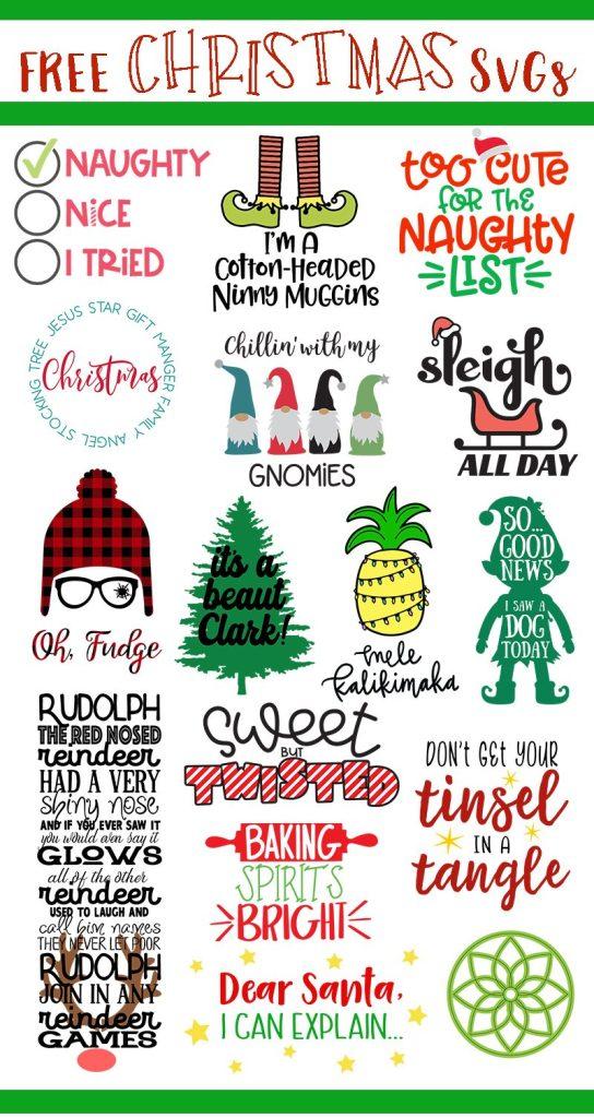Christmas SVG free