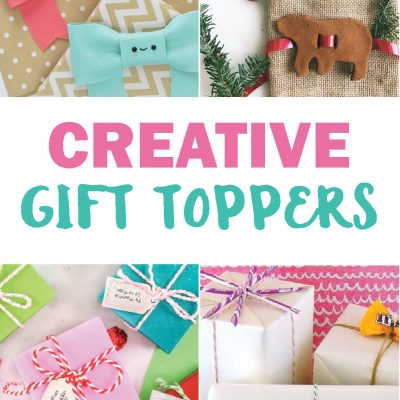 Creative Gift Toppers