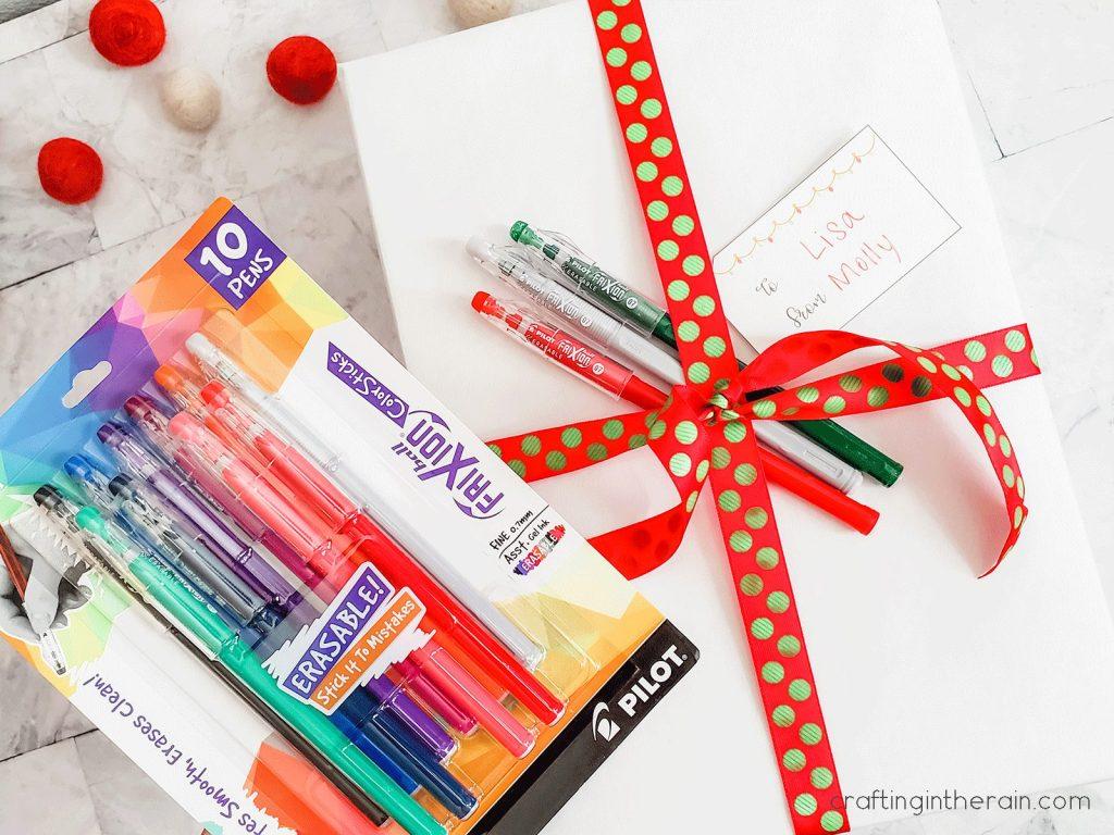 Erasable ink pens
