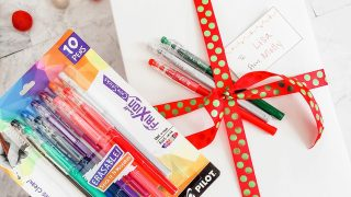 Pilot Pen Gift Toppers