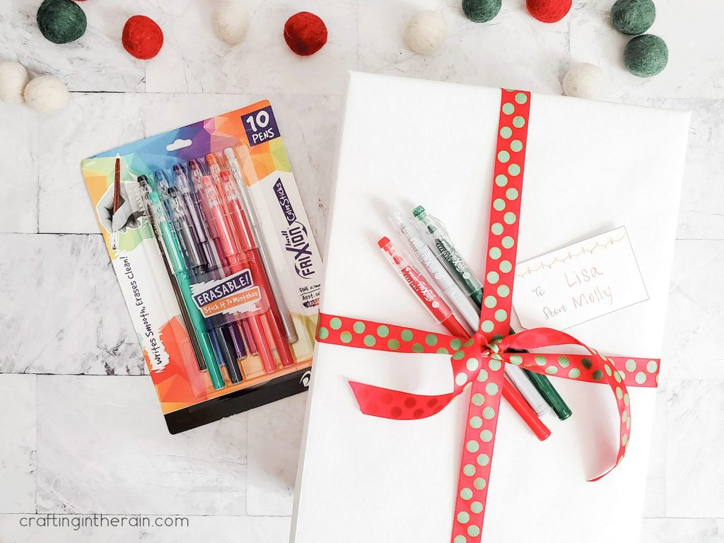 Give pens as a gift