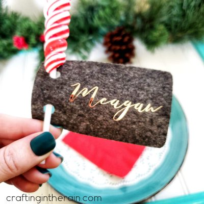 Christmas Lollipop Place Cards