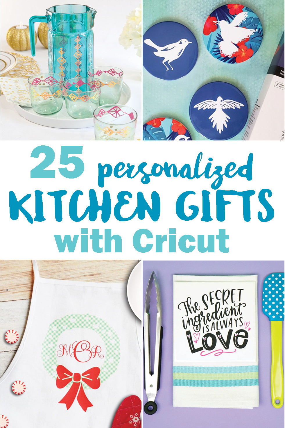 25 Personalized Kitchen Gifts With Cricut Crafting In The Rain