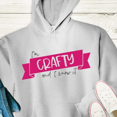 I'm Crafty and I Know It SVG