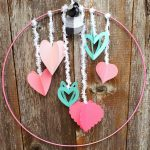3D heart wreath with Cricut