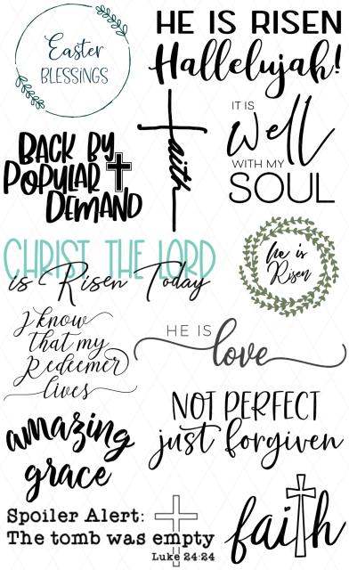 Religious Easter SVGs