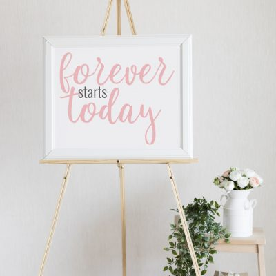 Forever Starts Today SVG