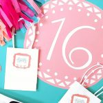Sweet 16 Party with Cricut