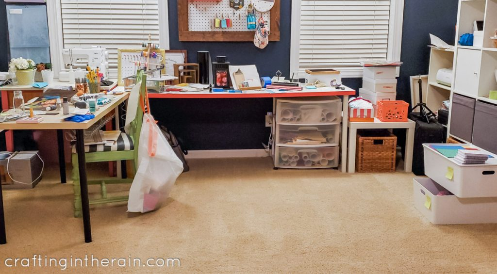 Craft room cleanup