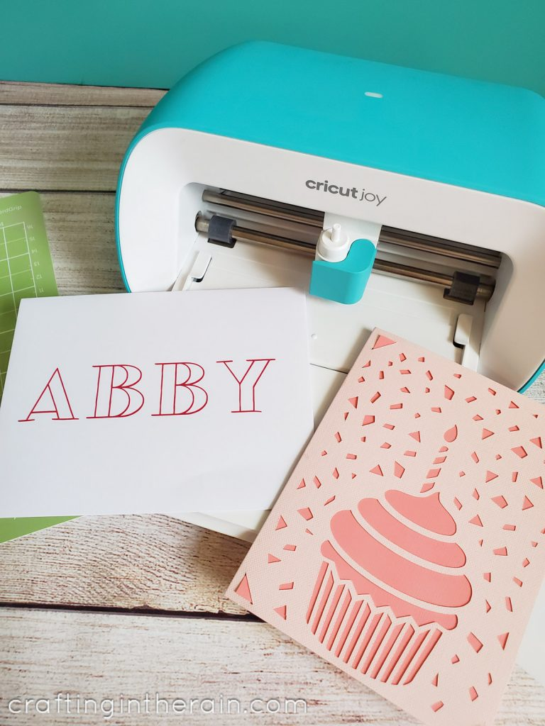 Cricut Joy insert cards
