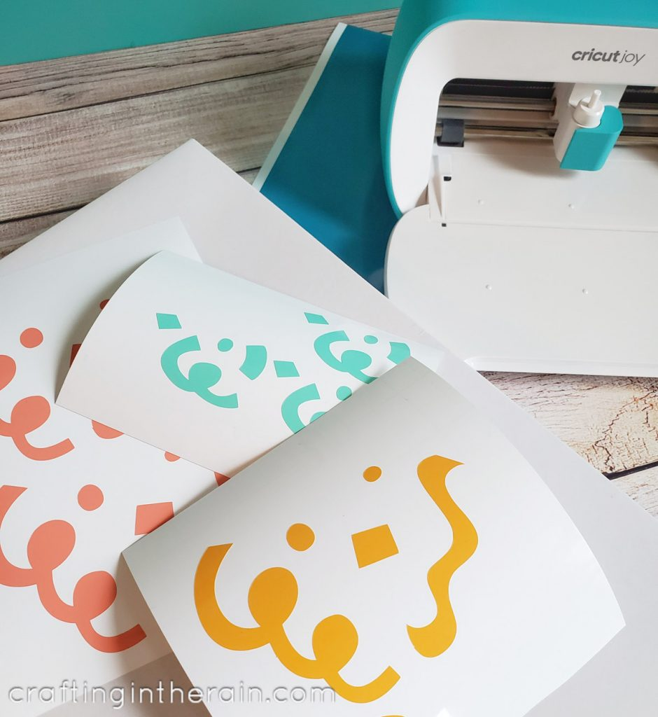 Cricut smart vinyl colors