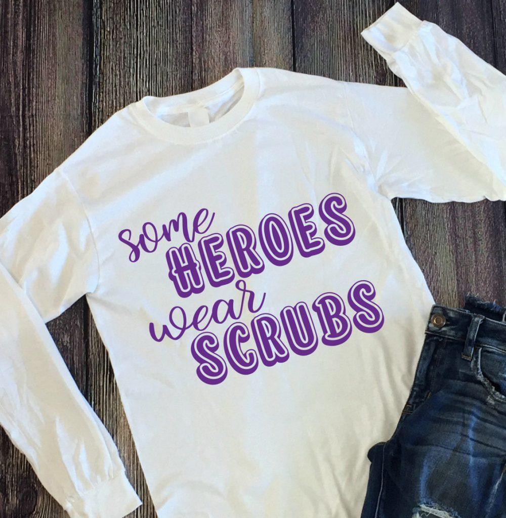 some heroes wear scrubs
