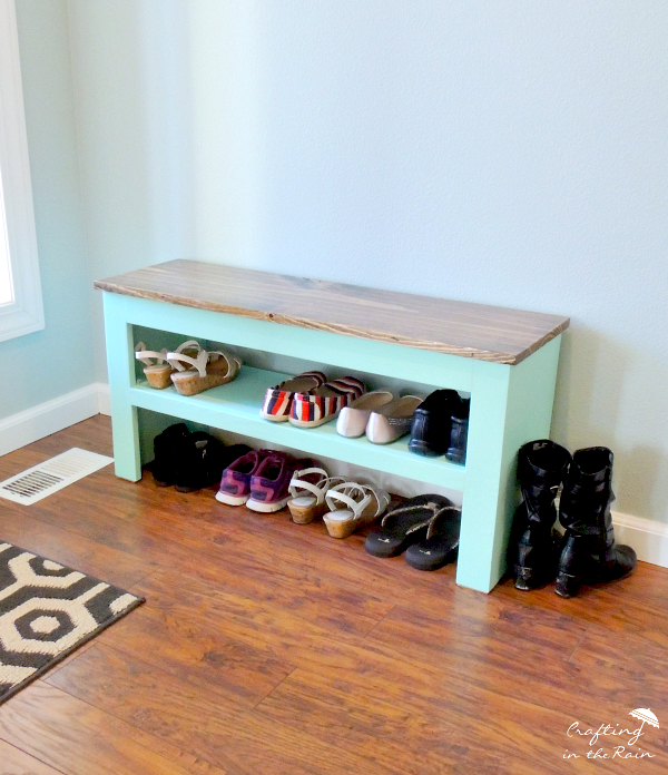 Build a shoe bench
