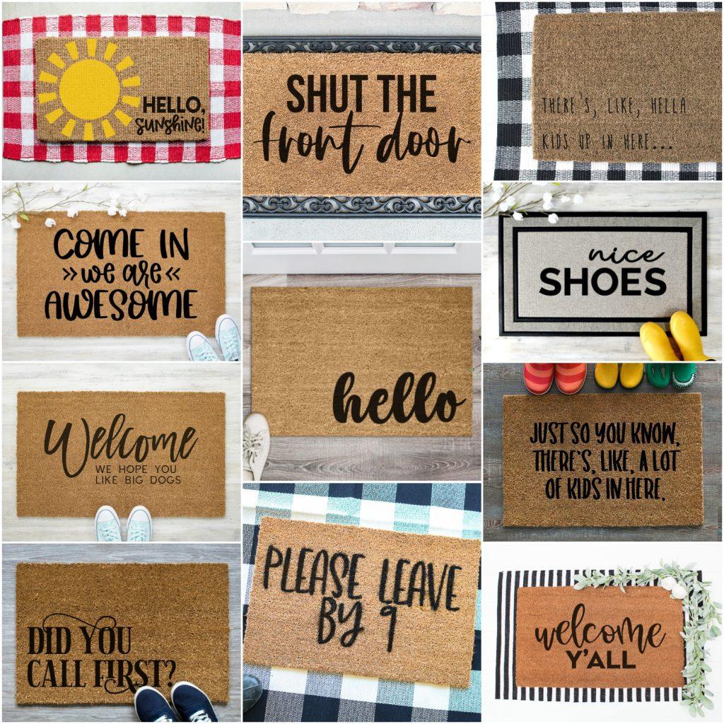 Free doormat svgs