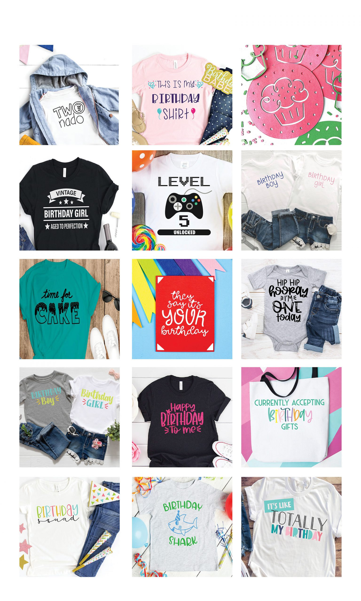 Birthday shirt ideas