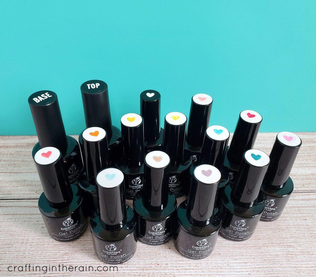 Organize gel polish