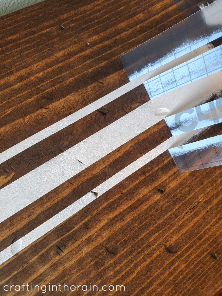 Cricut stencil clean lines