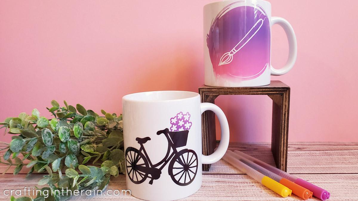 Sublimation Mug Without Mug Press Crafting In The Rain