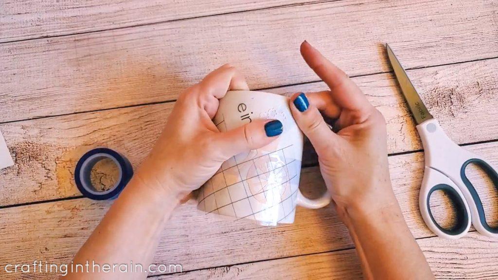 Heat resistant tape mug