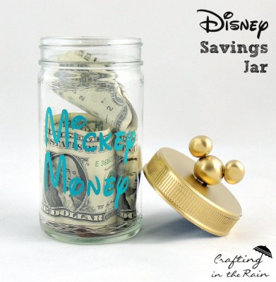 Mickey money savings jar