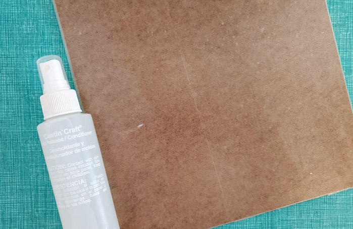 resin release spray