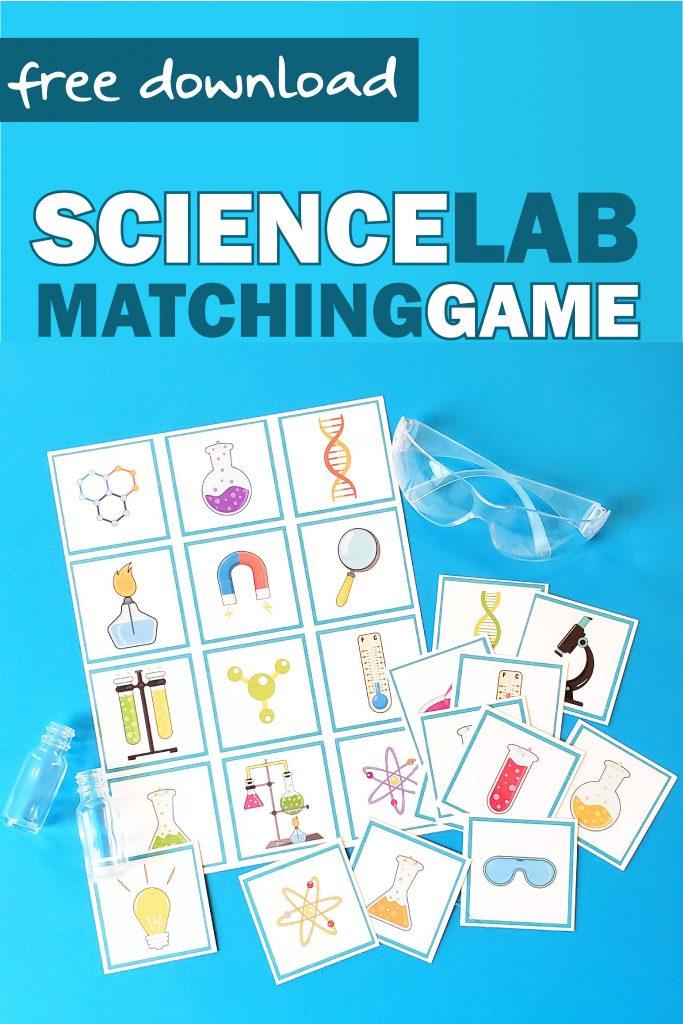 Science preschool matching
