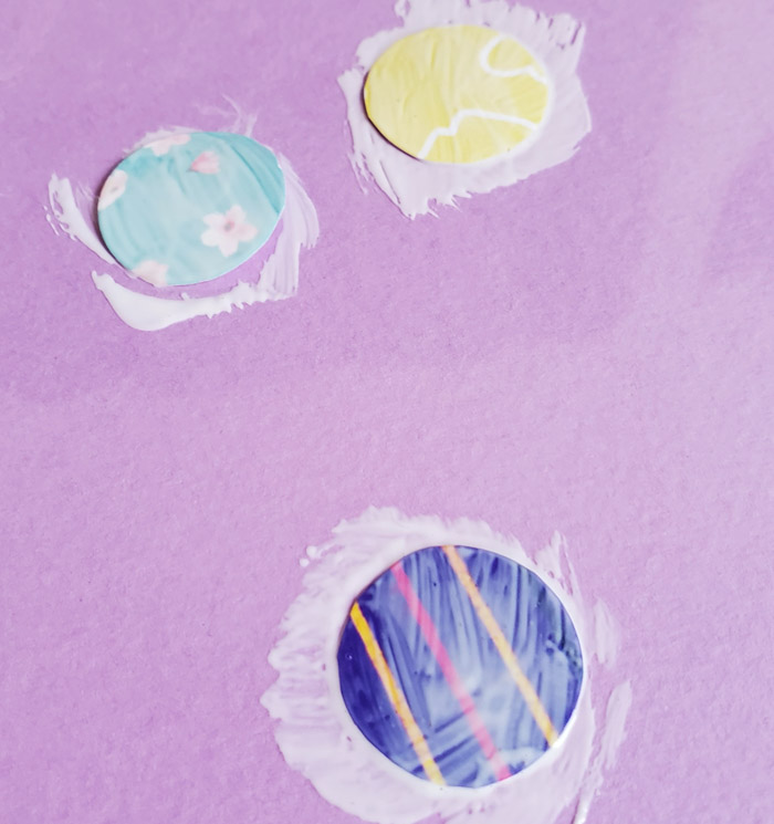 sealing paper with mod podge