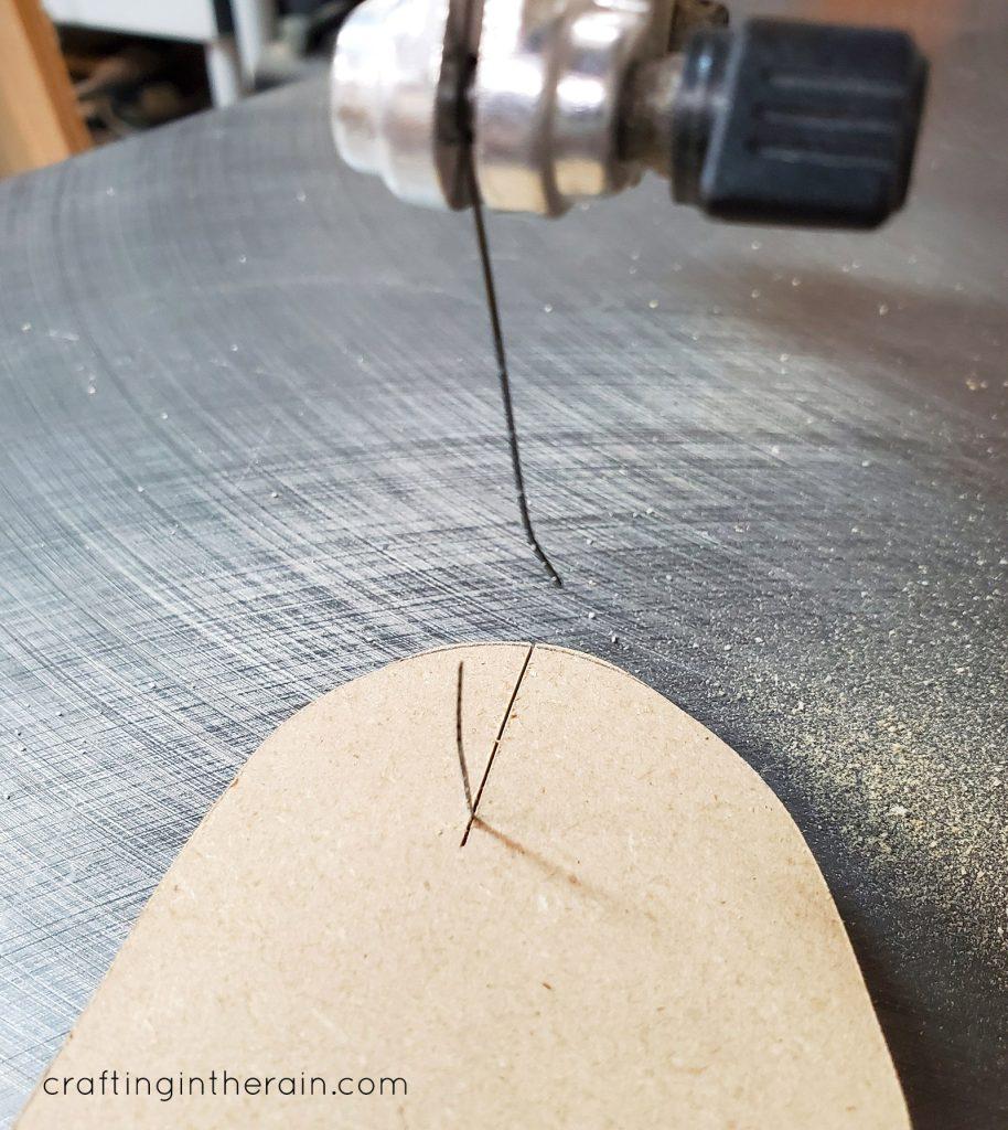 broken scroll saw blade
