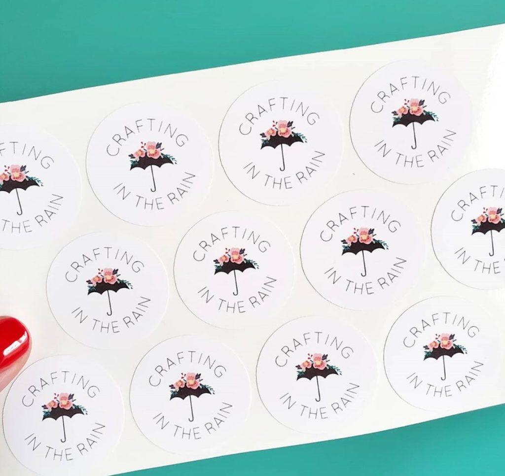 diy logo stickers