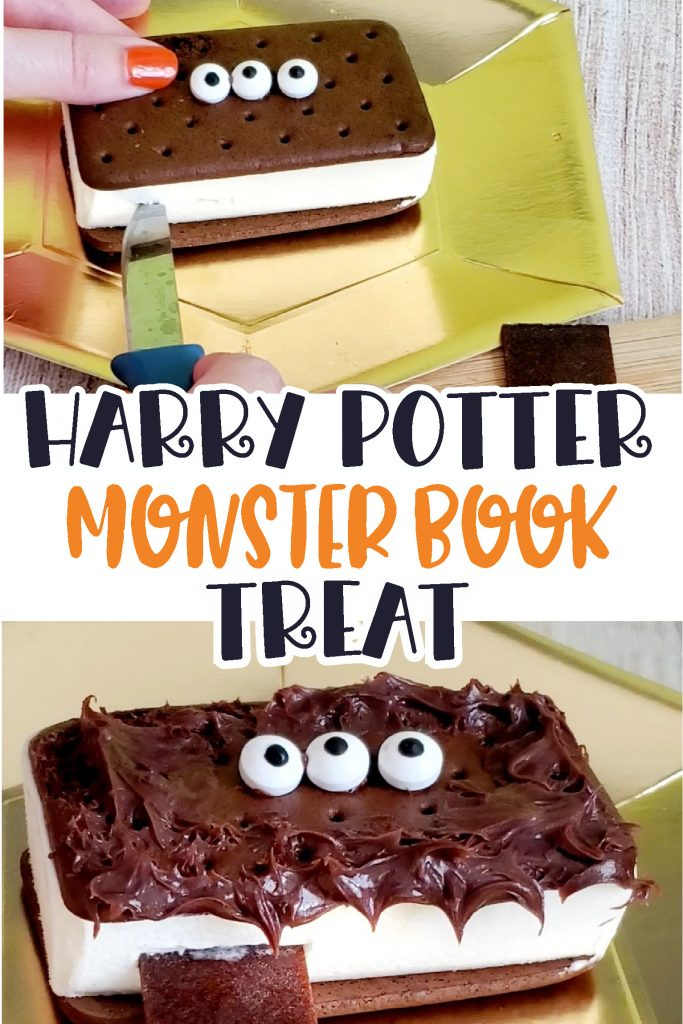 harry potter book of monsters treat