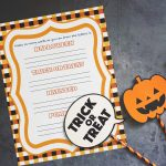 Halloween Word Game Printable