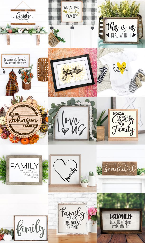 free svgs family sign