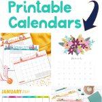 free 2021 calendars