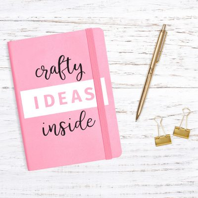Crafty Ideas Notebook