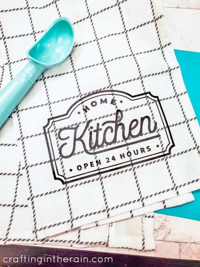 decorated kitchen towel 1