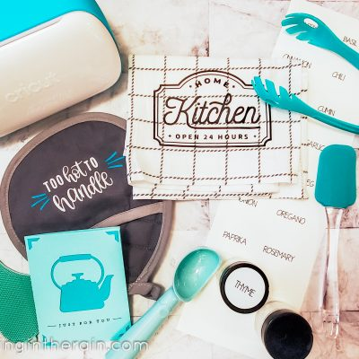 Kitchen Holiday Gifts with Cricut Joy